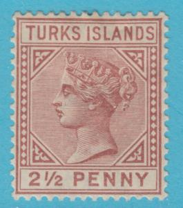 TURKS ISLANDS 49 MINT HINGED OG * NO FAULTS EXTRA FINE !