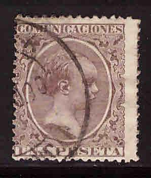 SPAIN Scott 268 Used 1889-1899 King Alfonso XIII