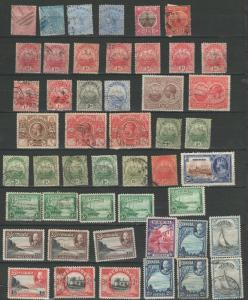 Bermuda stamp collection **