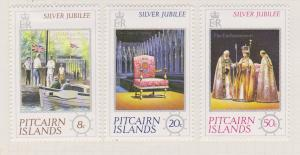 Pitcairn Islands Sc#160-162 MH
