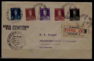 Argentina/Germany Zeppelin cover 24.5.35-