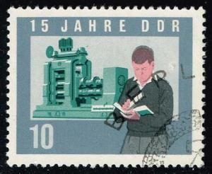 Germany DDR #732 Heavy Industry; CTO (0.30)
