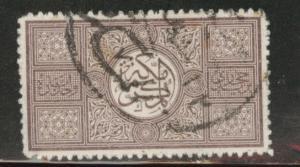 Saudi Arabia, Hejaz Scott L8 used stamp