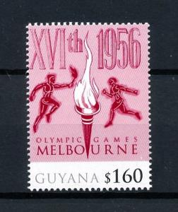 [92516] Guyana 2010 Olympic Games Melbourne  MNH