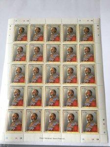 Barbuda george V 1910-1936 mint never hinged  stamps sheet ref R23579