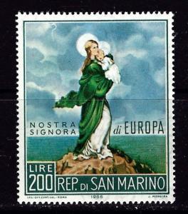 San Marino 653 Hinged 1966 Europa