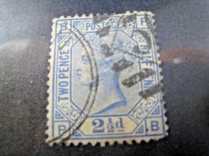 GREAT BRITAIN  -  SCOTT #82   Used                 (alb8)
