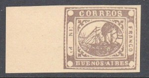 ARGENTINA  An old forgery of a classic stamp................................C971