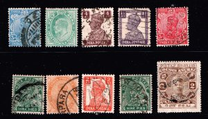 INDIA STAMP USED STAMPS COLLECTION LOT #1