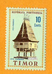 Timor Indigenous Art $10 1961 MNH