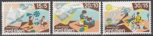 Netherlands Antilles #B137-9    MNH  (S5873)
