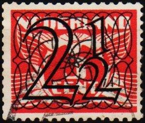 Netherlands. 1940 2 1/2 on 3c. S.G.522 Fine Used