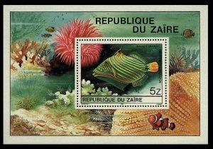 1980 Zaire 672/B38 Sea fauna 6,00 €