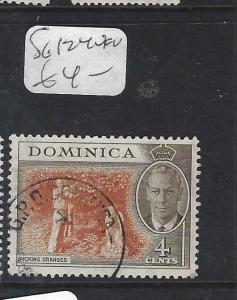 DOMINICA (PP1903B)  KGVI  4C    SG 124     VFU