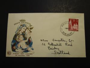 Australia 1958 Christmas Series First Day Cover (II) - Z3731