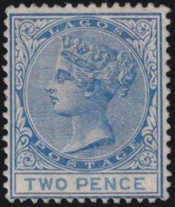 Lagos 1882-1902 SC 16 MLH