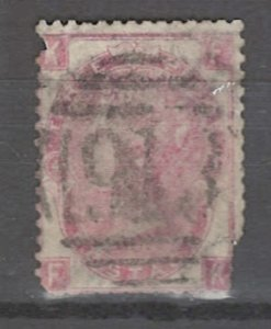 COLLECTION LOT # 3255 GB #44plate4 FAULTY 1865 CV=$215