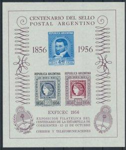 [I1638] Argentina 1956 good sheet very fine MNH
