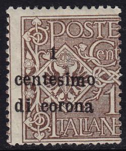 Austria Italian Occupation - 1919 - Scott #N64 - mint