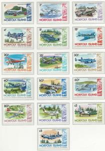 Norfolk Island    MNH  SC 256 - 270