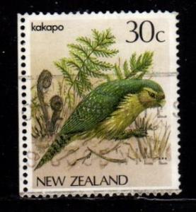 New Zealand  #766 Kakapo  - Used