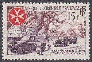 French West Africa 74 MVLH CV $2.40