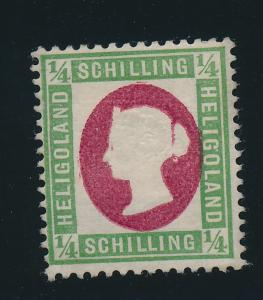 Heligoland Stamp Scott #8 (Reprint?), Mint/Unused No Gum - Free U.S. Shipping...