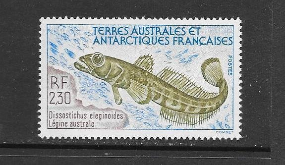 FISH - FRENCH SOUTHERN ANTARCTIC TERRITORIES #168  MNH