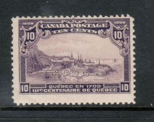 Canada #101 Mint Fine Never Hinged
