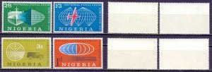 Nigeria. 1961. 105-8. Joining the UPU. MLH.