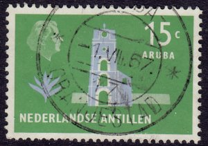 Netherlands Antilles - 1958 - Scott #247a - used - Fort Willem II Aruba