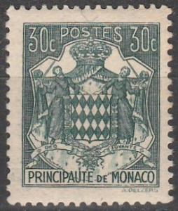 Monaco #150A  F-VF Unused (S7724)