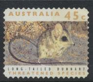 Australia SG 1331p  Used perf 11½ phospher band -Threatened Species -Dunnart