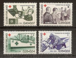 Finland 1964 Red Cross MNH