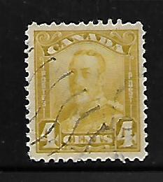 CANADA, 152, USED, KING GEORGE V