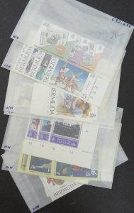EDW1949SELL : BERMUDA Collection of all Diff VF MNH between 1983-1995. Cat $101.