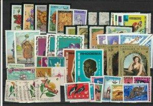 Congo Burundi Libya + Mixed World Stamps Ref 24273