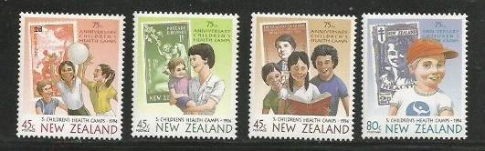 New Zealand MNH sc# B145-8 Childrens Health Camps
