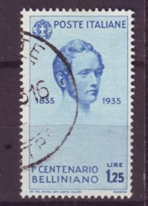 J16976 JLstamps 1935 italy used #352 bellini