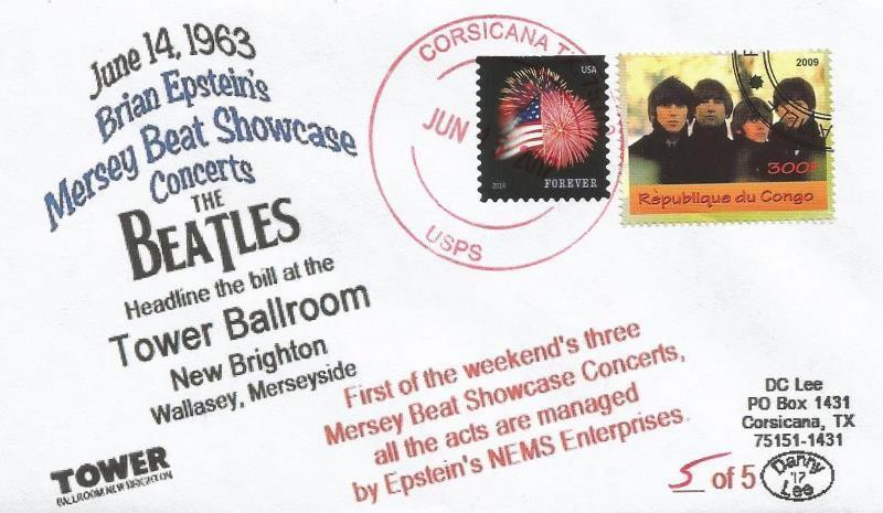 VERY LAST 14 JUN '63 Beatles Mersey Beat Showcase Tower Ballroom ...