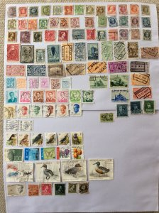 Belgium 100+ stamps - Lot B