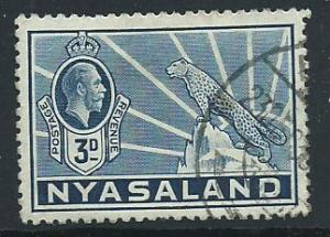 Nyasaland  SG 118 Very Fine Used