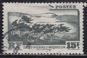 St. Pierre & Miquelon 340 Storm Swept Coastline 1947