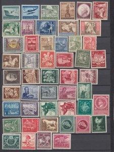 J29778, all different nazi germany mh  lot