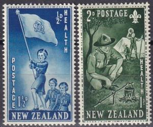 New Zealand #B42-3   MNH  (SU7588)