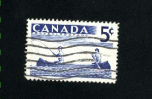 Canada  365  used VF PD 1957