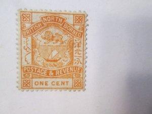 North Borneo #36 MH 2019 SCV = $4.50