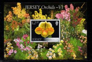 Jersey Sc 1325 2008 £2.50 Orchid stamp sheet mint NH
