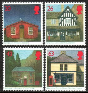 Great Britain 1767-1770,MNH.Post Offices:Scotland,England,Northern Ireland,1997