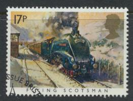 Great Britain  SG 1272 SC# 1093 Used / FU with First Day Cancel - Famous Trains